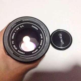 Canon FD lens 135mm