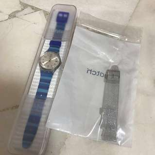 Brand new !!!Swatch watches with additional watch strap