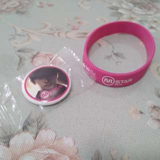 Mstar Badge & Wristband
