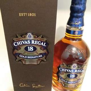 CHIVAS REGAL 18年(行貨)