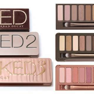 Eye shadow platte : Urban decay naked 3