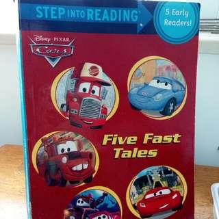 Disney Pixar Cars - Five Fast Tales