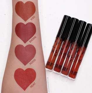 Instock Kylie Velvet Lipsticks Heat Mood