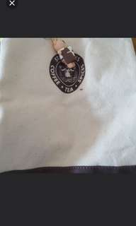 Brand New Starbucks Tote Bag with Bear Key Chains