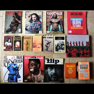Lot of Books/Magazines for sale