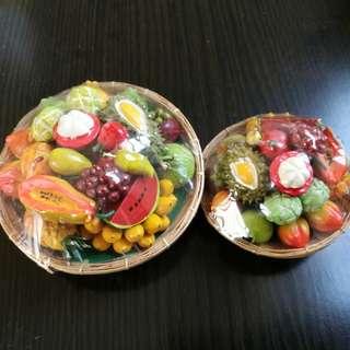 泰式水果精品擺設