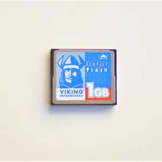 1GB Compact Flash Card