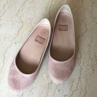 Fitflop Shoes Blush with Pink Gems
