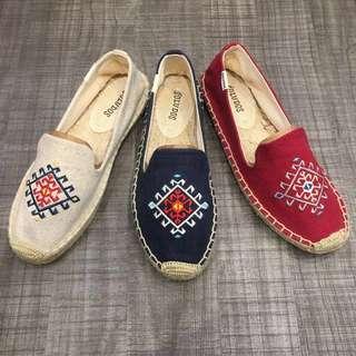 Sulodos草編鞋