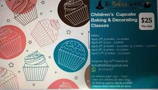 Children Cupcake Classes