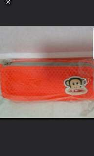 Brand New Mr Franks Pencil Case - ORANGE