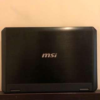 MSI GX60 3CC DESTROYER GAMING LAPTOP,NOTEBOOK 電競 打機 手提電腦(Full Hd)