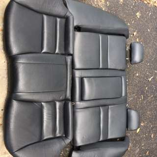accord cl7 rear seat