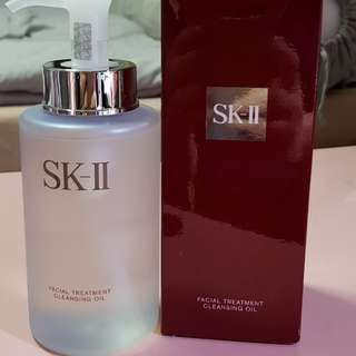 SK II treatment cleansing oil