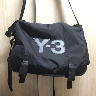 可議價 (Y3袋) 98% New Y-3 Adidas Message Bag