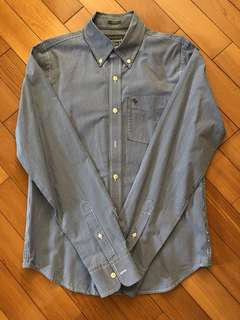 Abercrombie & Fitch blue checkers shirt