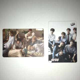 Bts Yes!Card 第23 24期 白卡