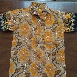 Preloved Batik Shirt