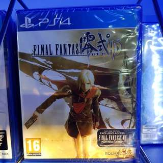 PS4 Game: Final Fantasy Type 0 HD Remasteres