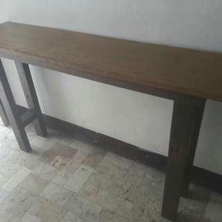 Console table - rustic