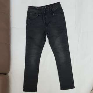 Mango Kis Boys Skinny Jeans off Black 7 years