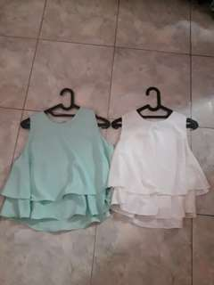 Crop top / blouse
