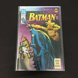 Batman 494 DC Comics Book Justice League Movie Joker