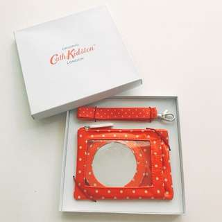 Cath Kidston travel purse, mirror and accessories set