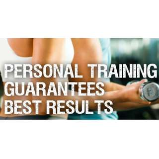 Personal trainer and fitness trainer