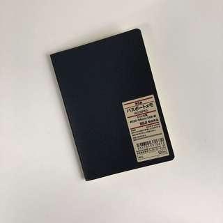 muji passport size dotted notebook