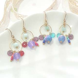 • Gypsy • Handmade Earrings • Dangling •