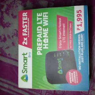 Pre owned SmartBro Home Wifi 2x faster than pocket wifi