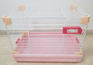 Rabbit, hamster, small animal cage