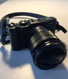 Fuji X-M1 photo camera