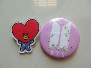 #Bajet20 BTS badges set