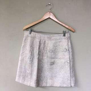 Mango Skirt White Gold