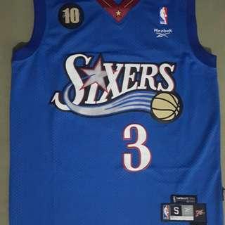 Allen Iverson Philadelphia 76ers Jersey