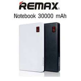 PROMOTION Remax Notebook Powerbank 30000mAh Travel Charger