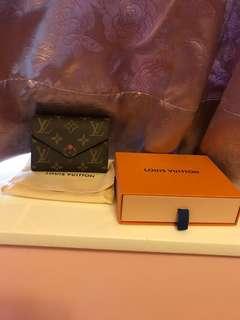 LV brand new victorine wallet