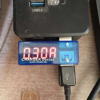 CHARGER Doctor USB充電電流/電壓測試儀器檢測器 電壓表 電流表 移動電源測試器