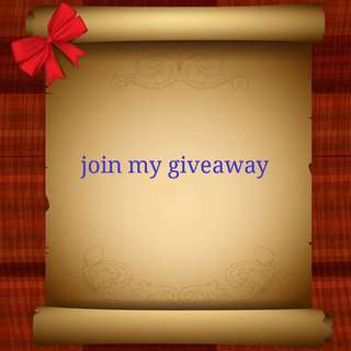 Join my giveaway