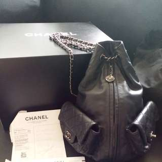 真品 real Chanel backpack (大size)