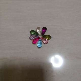 Diomand crystal beads