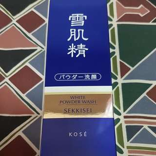 (BN) White Powder Wash from Kose