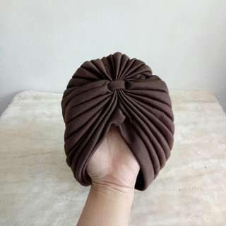 Brown turban