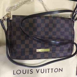 Replica LV Damier Ebene Crossbody bag