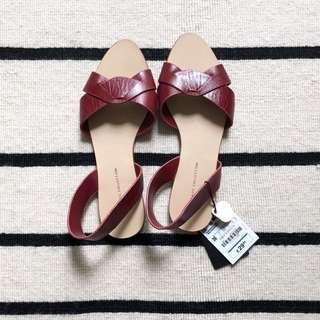 BN Zara Red Sandals