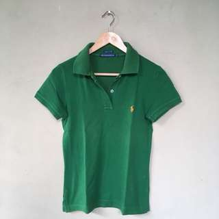 Authentic Geen Polo Shirt