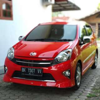 Toyota agya A/T matic TRD 2016