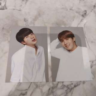 BTS x VT official mini photocard
